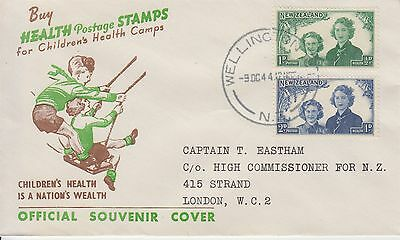 Scouting Pfadfinder Scoutisme 1944 Health stamps New Zealand