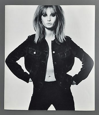 David Bailey Original 1965 Box of Pinups Halftone Photo Print 32x37 Susan Murray