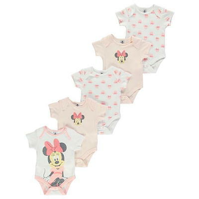 Disney England ** Minnie Mouse **Body Set 5tlg.Unterwäsche 56 62 68 74 80 86 92