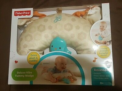 Fisher-Price Deluxe Vibe Tummy Wedge NEW FREE SHIPPING