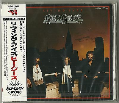 Rare SEALED Bee Gees Japan RSO CD w/obi Living Eyes Barry Robin Maurice Gibb OOP