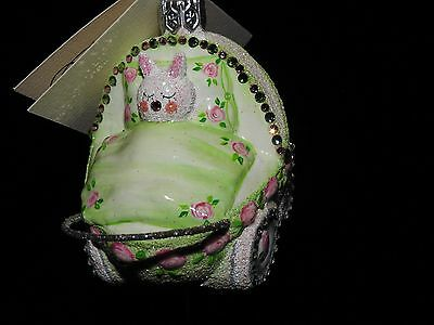 Patricia Breen Jeweled Hush Little Bunny Carriage