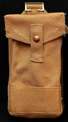 WWII Canadian/British Pattern 37 Webbed Bren Mag REAR AMMO POUCH- S&U Ltd.1941