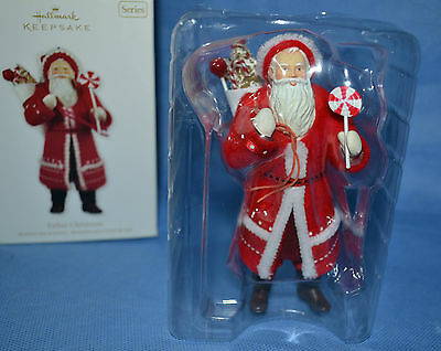 Father Christmas Hallmark Keepsake Ornament/handcrafted 2011