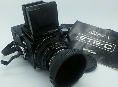 Collectable!!! Bronica ETR-C Medium Format Film Camera in Excellent condition