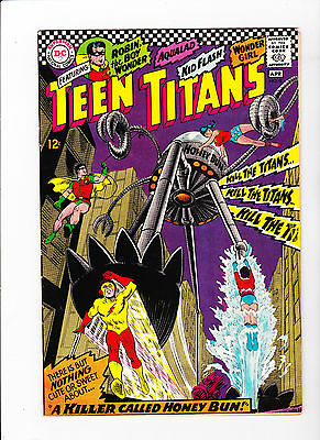 Teen Titans #8 - Near Mint - White Pages
