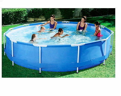 """Pool Family Ground Swim Swimming Square 179"""" Outdoor Spa Above Pools Kids Play"""