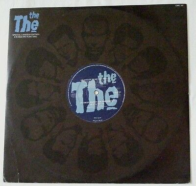 "THE THE Matt Johnson UK 1989 ETCHED 12"" Single Gravitate To Me  Disc=NearMINT"