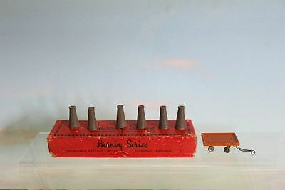 Hornby Series Railway Accessories No 2 Milk Churns & Trolley Boxed 1930's