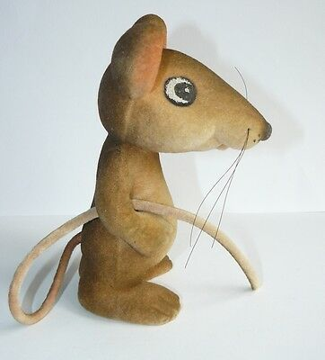1970s USSR Estonian Vintage Polymer Toy MOUSE