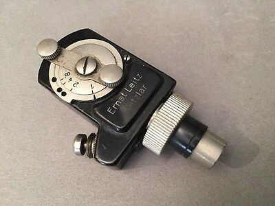Leica Leitz Behoo Attachment  - Ref: Ck5236 - Nickel