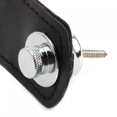 Chrome Plated Skidproof Flat Head Strap Lock for Electric Guitar Quality