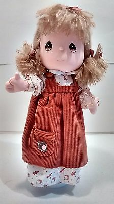 Precious Moments Musical Doll Four Seasons Plays Autumn Leaves by Applause