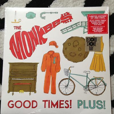 "Monkees - Good Times! Plus! 10"" EP Ltd Edition RSD Release sealed"