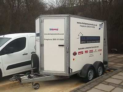 Ifor Williams Box Trailer Ramp And Doors Lots Of Extras 2013
