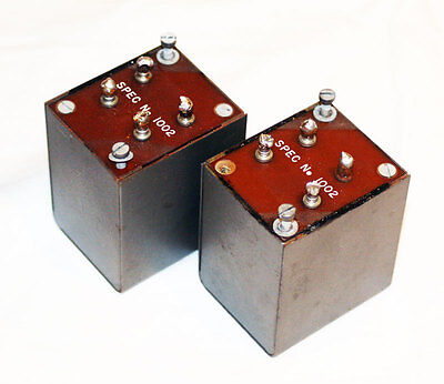 Quad II Choke transformers X 1. Tested. I have 4 for sale. Price is for 1.