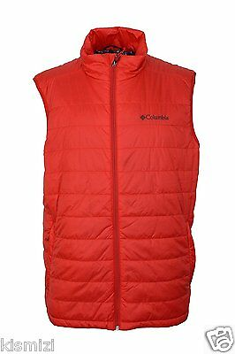 "$90 New Mens Columbia ""Crested Butte"" Insulated Omni-Heat Omni-Shield Vest XXL"