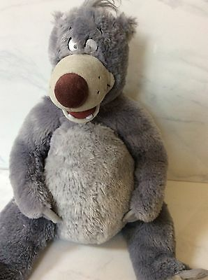 "Baloo Disney Store Plush Stuffed Animal Bear The Jungle Book 13"" Toy"