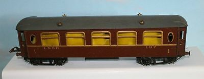Hornby Series No 2 Lner Saloon Coach 1St Classs 1935