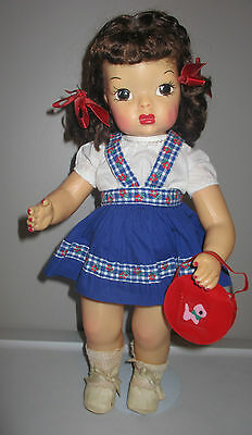 Doll Terri Lee All Original Skirt, Blouse, Panties and Shoes Tagged 1950s