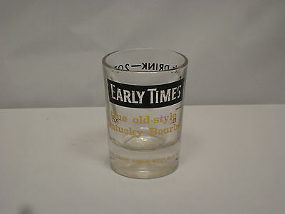 Vintage Early Times 2 Ounce Large Whiskey Jigger