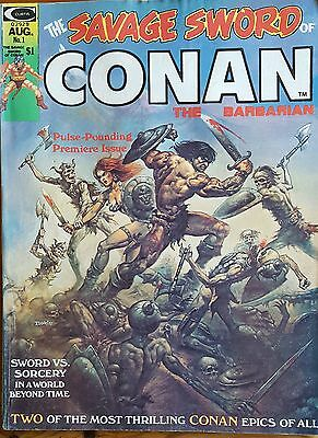 The Savage Sword of Conan (the Barbarian) #1 AUG 1974 RARE