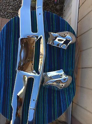 1967 67 Impala, CAPRICE, Bel air FRONT BUMPER rechromed Orig excellent No Core