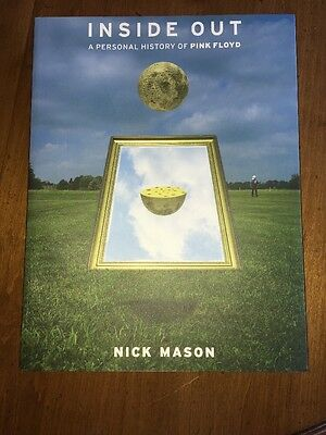 Nick Mason Signed Inside Out Pink Floyd