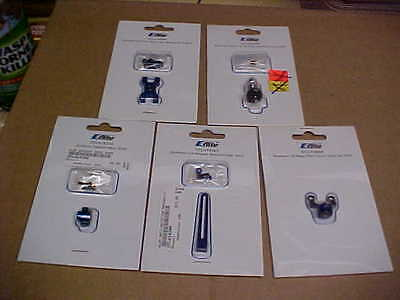 E-Flite B400 Metal Upgrade Helicopter Parts Lot = 5 Pieces (New)
