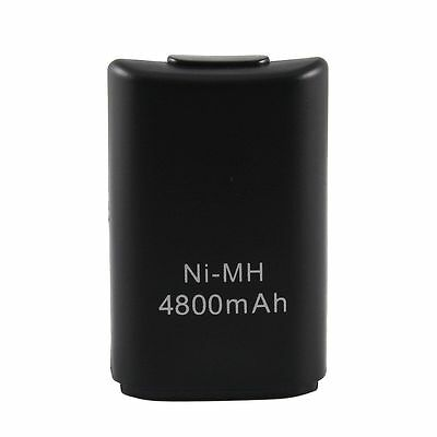 Black Xbox 360 Rechargeable Battery Pack Power Battery