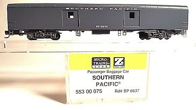 Z Scale MTL 553 00 075 Southern Pacific Passenger Baggage Car # 6637