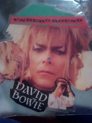 DAVID BOWIE Picture disc sagomato di Underground (Labyrinth)