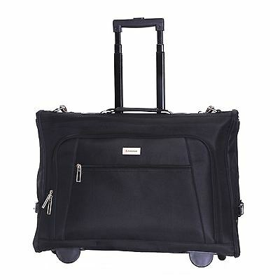 Wheeled Cabin Travel Suit Dress Luggage Suiter Garment Carrier Case Suitbag Bag