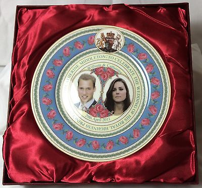 William And Catherine Royal Wedding Collector's Plate - Nib Perfect