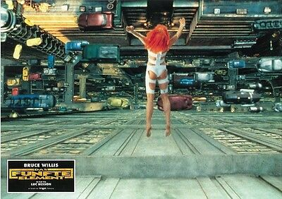 The Fifth Element movie poster - German style print # 2 - Milla Jovovich