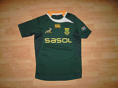 South Africa Rugby Shirt 2009 Home Medium Size Canterbury Jersey