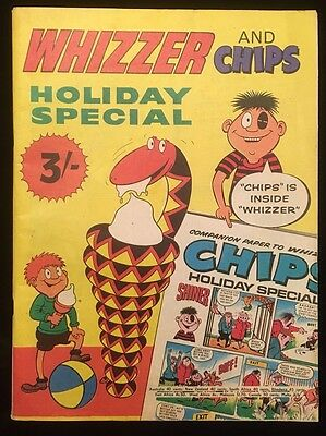 Whizzer and Chips Holiday Special 1970 - 1st One! - Fleetway