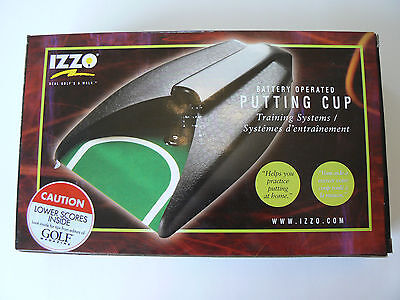 Portable Izzo Battery Operated Golf Practice Auto Return Putting Cup