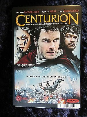 CENTURION movie backer card (this is not a movie) MICHAEL FASSBENDER