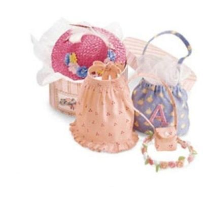 2001 American Girl Angelina Ballerina Accessories in Hat Box Brand New ~ Retired