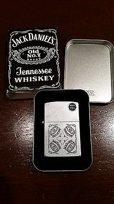 Zippo - Jack Daniels Collage 205JD.326 - Brand New in Tin & Sleeve - Never Used