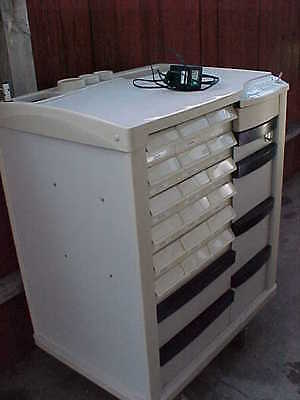 Lionville Electronic Med Cart Series 600 Whole Cart For Parts