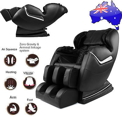 AU Genuine Real Relax Full Body Massage Chair Recliner ZERO GRAVITY Foot Rest