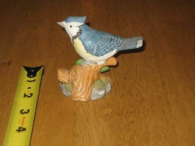 The Whitehall Society American Blue Jay Porcelain Figurine