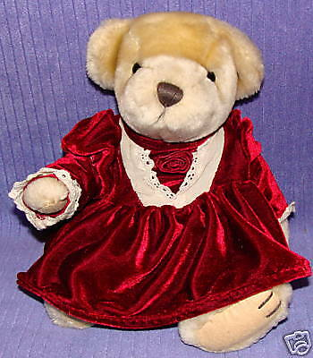 Brass Button Bear Pearl Bear Of Wealth ~ Bf8