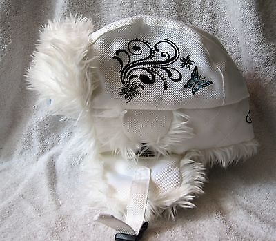 Beautiful - White - Chozo - Women's - Collectible - Ford - Trapper Hat - 1Size
