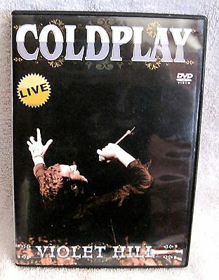 Like-New - Coldplay - Live At Violet Hill - Concert Dvd - Great Gift Item!!!