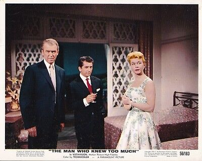 DORIS DAY JAMES STEWART Vintage THE MAN WHO KNEW TOO MUCH Alfred Hitchcock Photo