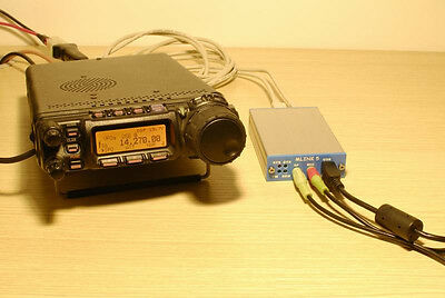 ICOM KENWOOD YAESU FT-817ND FT-857D FT-897D to PC linker connector/CW DATA CAT