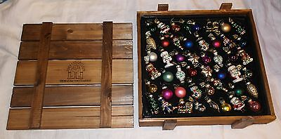 2003 Collection Thomas Pacconi Classics Christmas 48 Ornaments Excellent
